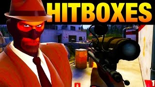 Team Fortress 2 - How the Knife Hitbox Works