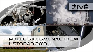 ŽIVĚ: Pokec s Kosmonautixem (listopad 2019)