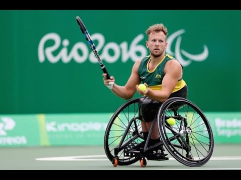 Wheelchair Olympics Ashley Accent Chair Rio 2016 Paralympic Games Tennis Day 6 Youtube