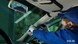 Замена лобового стекла на VW Golf 4(, 2011-04-19T19:04:28.000Z)