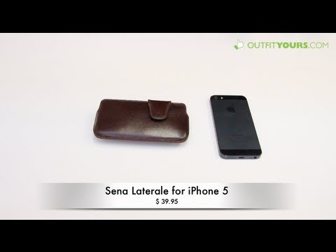 Sena Laterale Leather Belt Case for iPhone 5 - Review