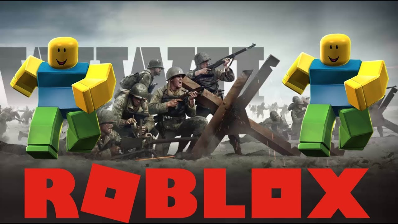 Call Of Duty Ww2 But Everytime I Get A Kill It Goes Oof Roblox