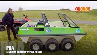 Voiture amphibie VP 2025 Poncin : POA prend l'eau