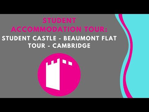 Student Castle - Beaumont Flat Student Accommodation Tour - Cambridge