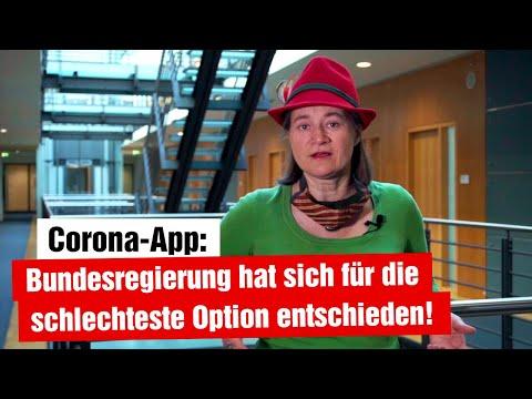 Technische Plattform von Corona-App schon entschieden und Quarantäne-App geplant (22.04.2020)
