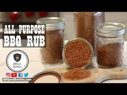 The perfect ALL PURPOSE BBQ RUB - Secret Recipe Revealed