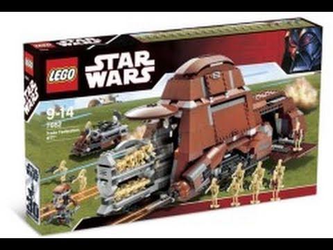 LEGO Star Wars 7662 Trade Federation MTT™ Review Part 1