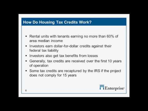 Live Online Event | Tax Credits 101, Part 1: LIHTC and Renewable Energy