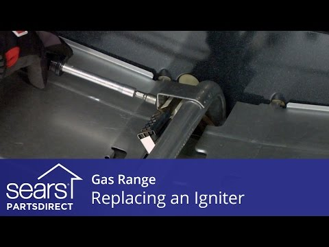 Replacing an Oven Igniter in a Gas Range - YouTube on