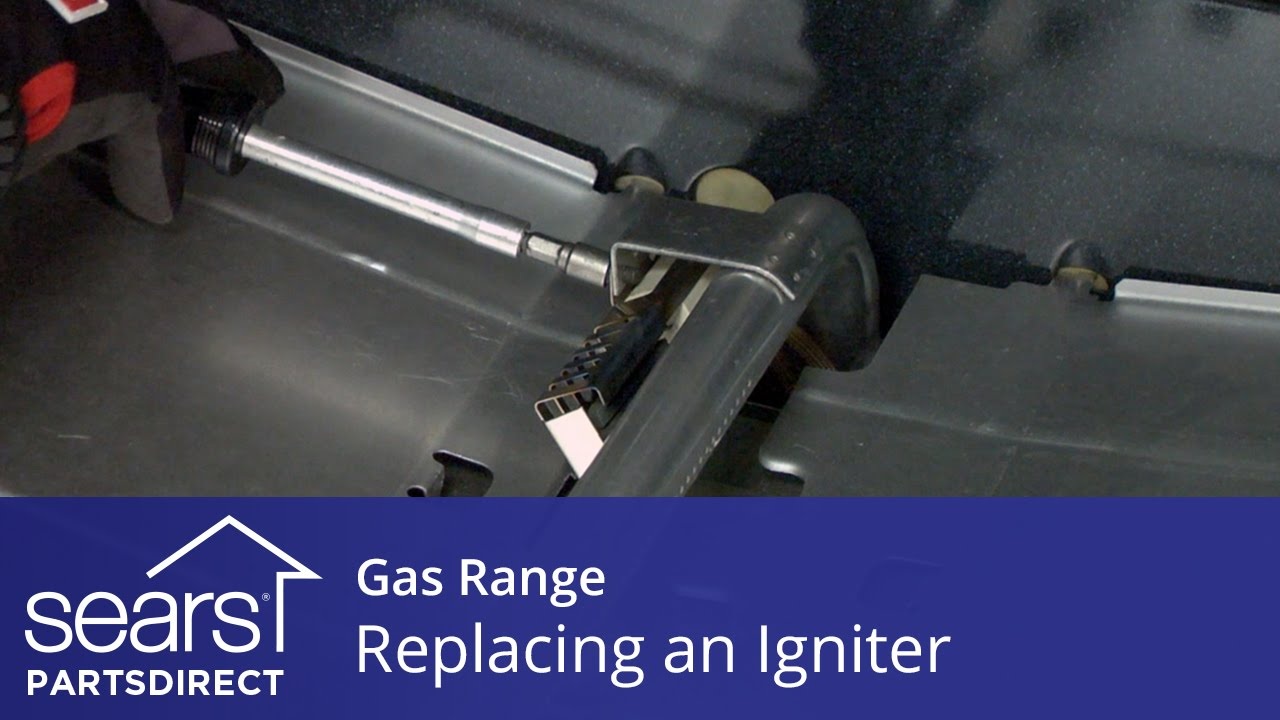 hight resolution of replacing an oven igniter in a gas range
