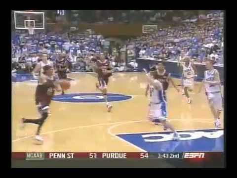 Deron Washington hurdles Greg Paulus Virginia Tech Basketball vs Duke