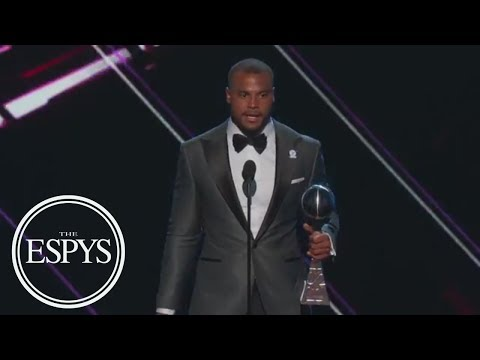 Dak Prescott Wins Best Breakthrough Athlete | The ESPYS | ESPN