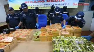 Kedah Customs seizes RM18.3m worth of drugs, biggest haul this year
