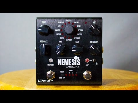 Ambient Guitar Gear Review - Source Audio Nemesis Delay