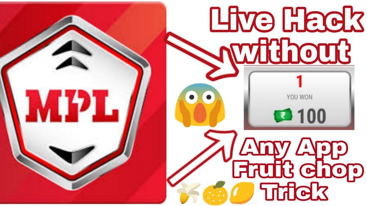 Mpl Fruit chop game hack 100% Real | Mpl Fruit chop apk | Mpl Latest fruit chop hack trick