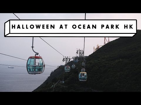 Halloween at Ocean Park Hong Kong! (Not for the Faint-Hearted!)