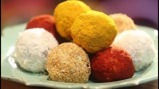 Рецепт недели: сырные шарики с начинкой