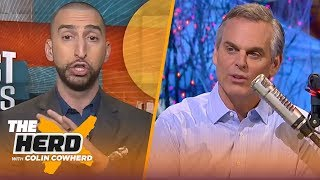 Nick Wright and Colin Cowherd on the NFL trade deadline, the Rockets struggling | THE HERD