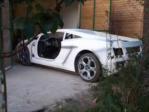 lamborghini gallardo replica build - youtube