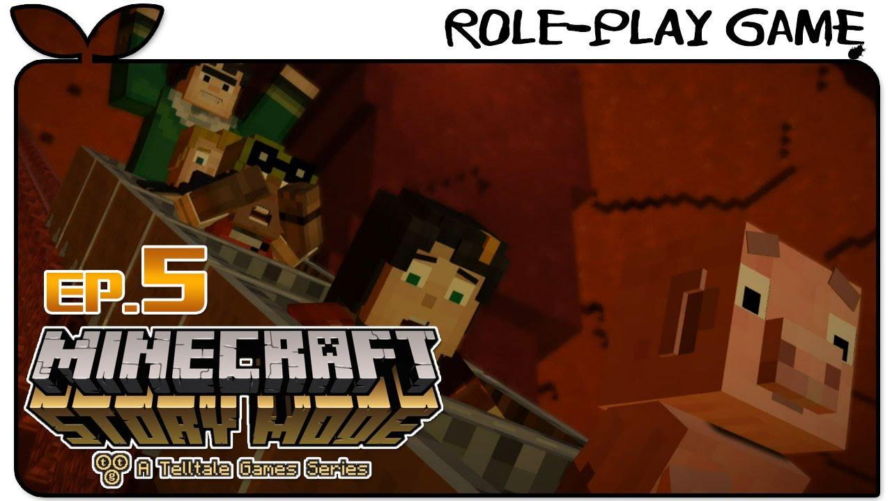 江小Mの實況【Minecraft 劇情模式#5】:地獄門傳送 - YouTube