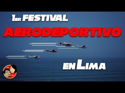 ¡¡Así fue el impresionante 1er Festival Aerodeportivo en Lima Perú!!
