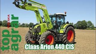 Claas Arion 440 CIS - test ciągników 120 KM - top agrar