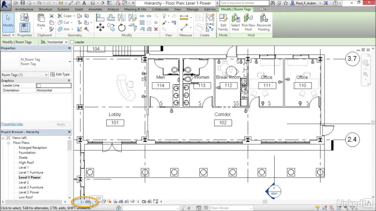 How To Create An Enlarged Floor Plan In Revit