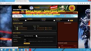 Make Counter Strike Server on PTCL Router