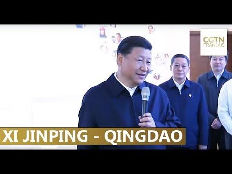 Shandong : Xi Jinping visite des usines à Qingdao et Yantai