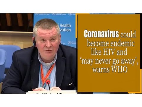 Health officials say the coronavirus will likely become endemic in the ...