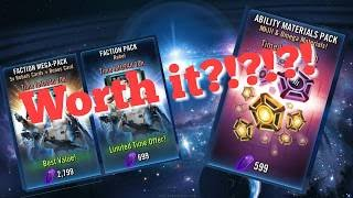 Worth It Series: Faction Pack and Abilities Materials Pack star wars galaxy of heroes swgoh
