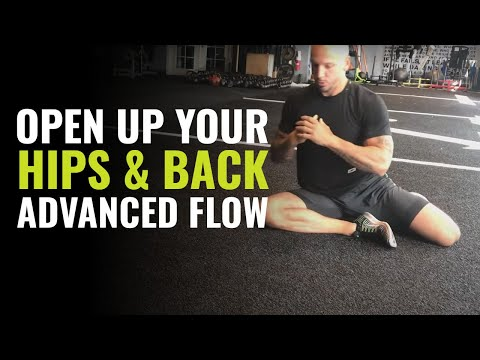 Open Up Your Hips, Low Back And Upper Back With This Advanced Mobility Flow