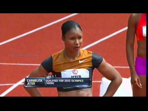 2012 U.S. Olympic trials women 200m semifinals