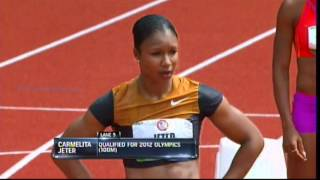 2012 U.S. Olympic trials women 200m semifinals