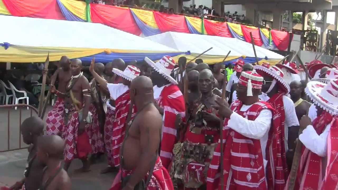 Agogoro eyo festival in lagos nigeria