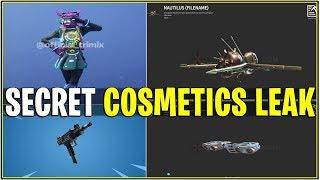 *NEW* SECRET FORTNITE SKIN/ITEM LEAKS..! *Female DJ Yonder, New Gun, Gliders, & More!*