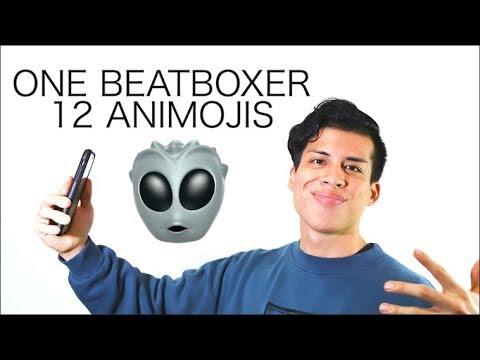 One Beatboxer, 12 Animojis