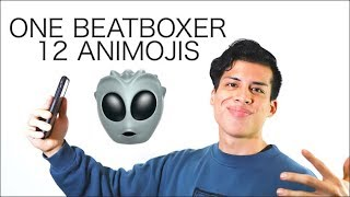One Beatboxer, 12 Animojis