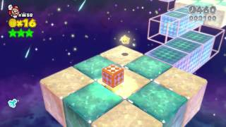 Super Mario 3D World - Crown World (all characters w/ no hold items)