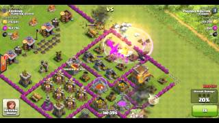 Clash of Clans Raid - High 900k Resource - Town Hall 7 vs Town Hall 8