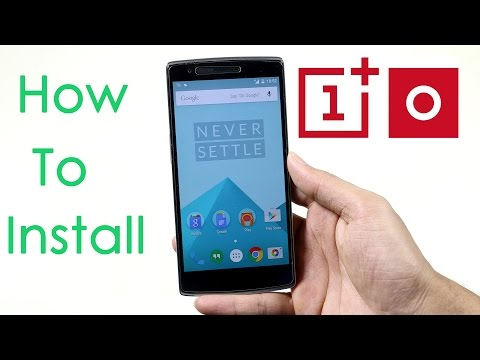 OnePlus One - How to Install Oxygen OS (Official)