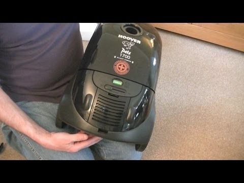 Hoover Telios Pets Cylinder Vacuum Cleaner Unboxing & First Look