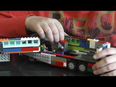 Дом на колесах - обзор самоделки из LEGO  System