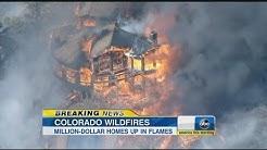 Wildfires Burn in Colorado, Destroying Homes