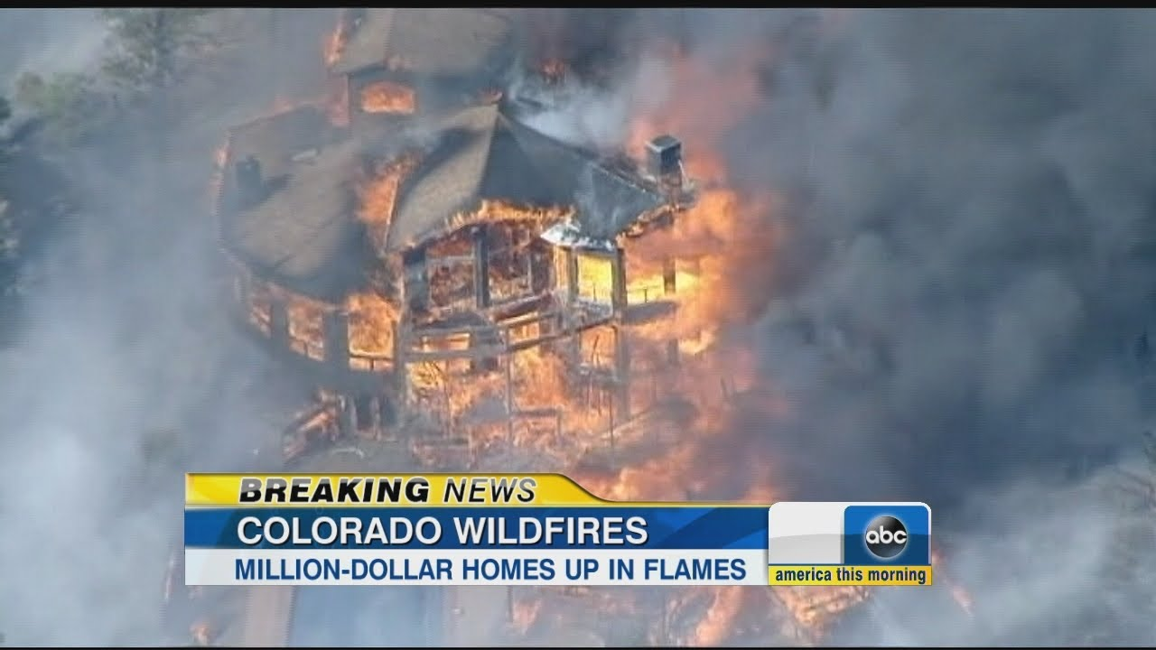 Wildfires Burn In Colorado Destroying Homes Youtube