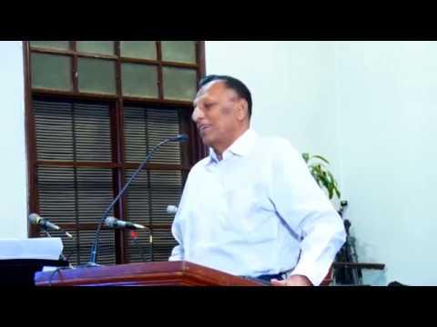 Dr.Pushparaj, Speech in Kuwait: Day 1
