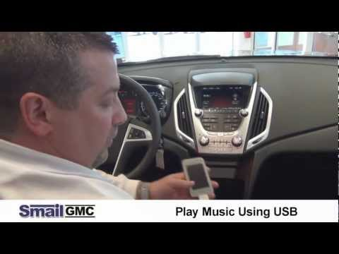 Play Music From an iPod or Any MP3 Device in the 2012 GMC Terrain