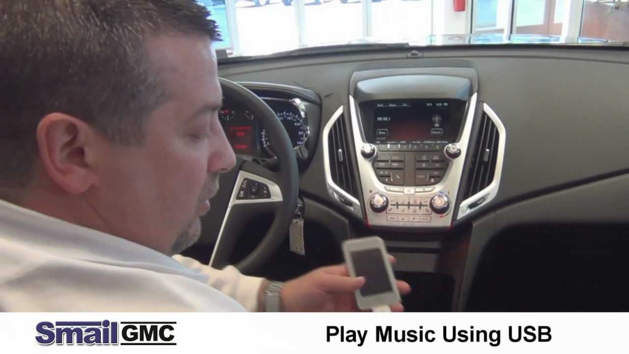 Play Music From an iPod or Any MP3 Device in the 2012 GMC ...
