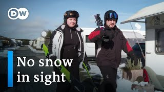 No snow means no skiing, or does it?   DW Documentary