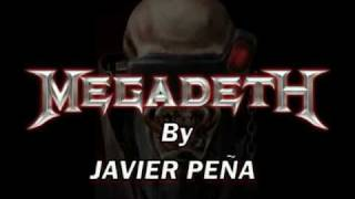 "Megadeth - Angry Again ""Solo Guitar -Slow and real tempo"""